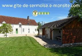 logo Gîte de Sermoise