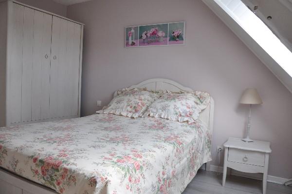 La chambre principale de l'aigrette bleue.