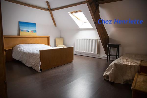 Une chambre de Chez Henriette au deuxième étage