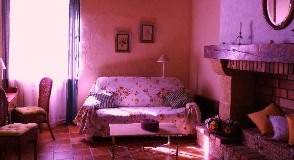 salon dans chambre 1
