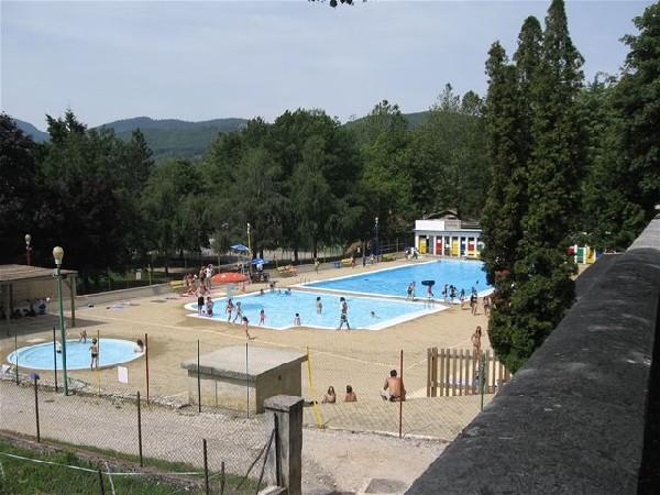 piscine de la Chapelle en Vercors, pour un moment de fraicheur.