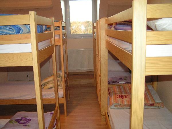 1er dortoir de 10 pers en lits superposes<br /> pour le gite de 70 pers<br /> <br /> <br /> <br /> <br /> <br /> <br />