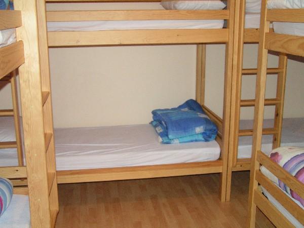 2eme dortoir de 10 pers en lits superposes<br /> pour le gite de 70 pers
